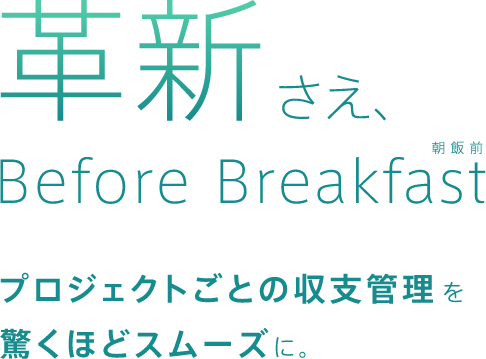 革新さえ、Before Breakfast